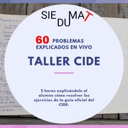 Taller CIDE